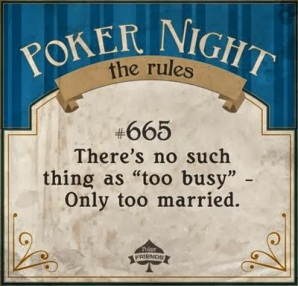 Poker Friends - Poker Night Rules